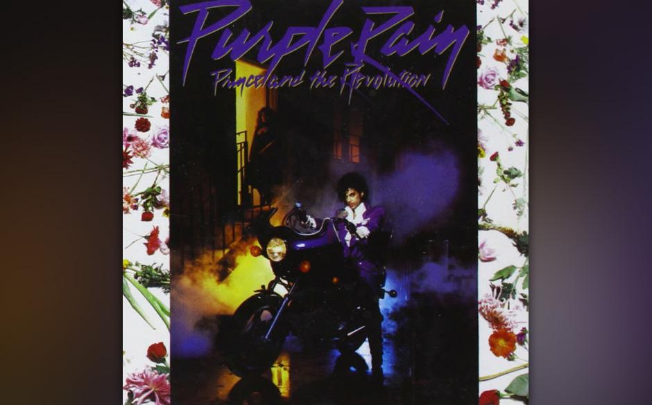 """24. 'Purple Rain' (Purple Rain, 1984).   Der Song """"Purple Rain"""" von 1984 gilt heute als einer der signifikantesten von Pr"""