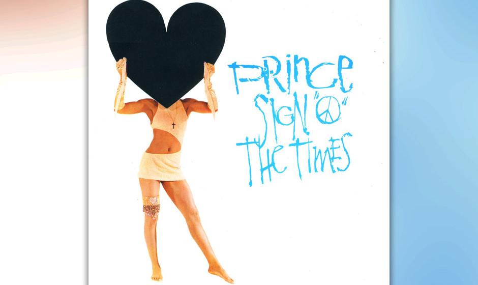 12. 'Sign 'O' The Times' (Sign 'O' The Times, 1987).   Prince erster Rap und ein gelungener Versuch Politisches in Songform z