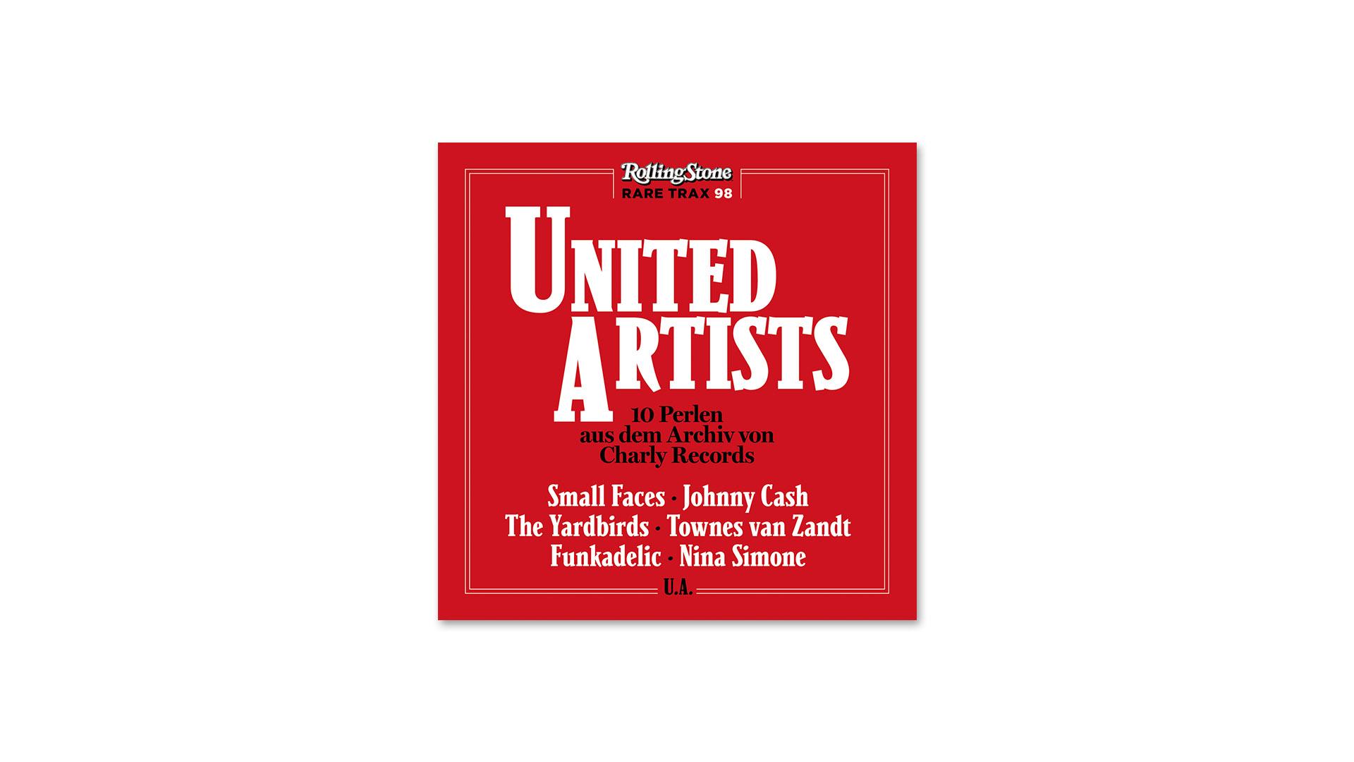 Im Neuen Rolling Stone Cd Rare Trax United Artists