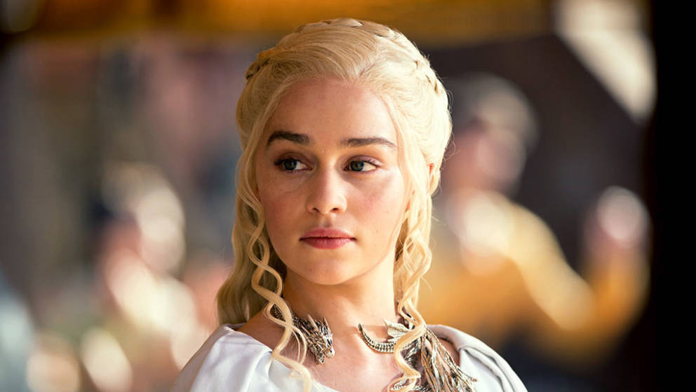 "Emilia Clarke (Daenerys Taragryen) von ""Game Of Thrones"""