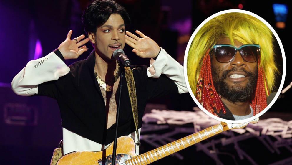 Prince und George Clinton (Parliament und Funkadelic)