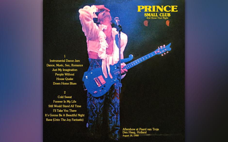 99. 'People Without' (1988, unveröffentlicht).  Prince' wohl bekanntestes Live-Bootleg 'Small Club' dokumentiert eine Afters