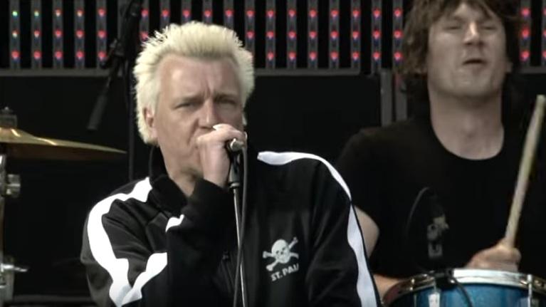 Auftritt der Hamburger Punkband Slime