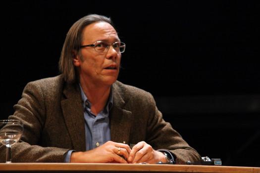 Harald Welzer 2012 in der Schaubühne Berlin.