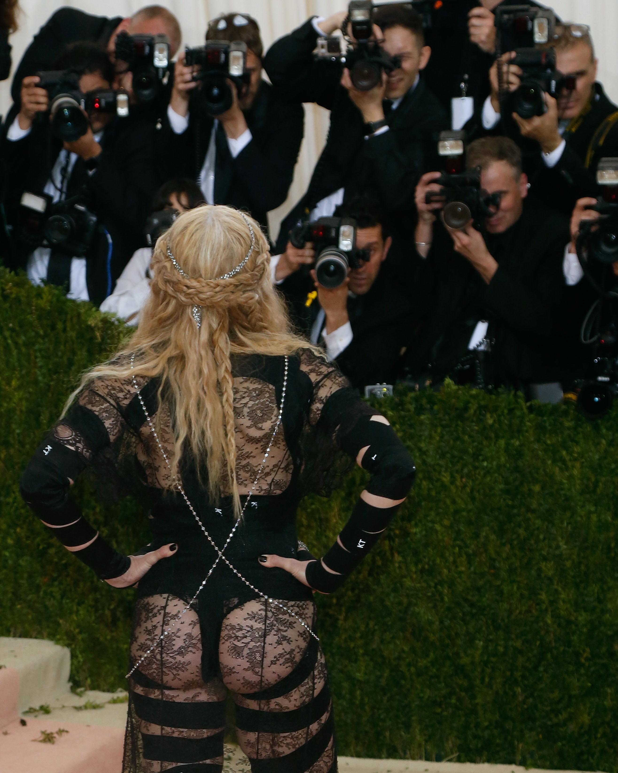 NEW YORK, NY - MAY 02:  Madonna attends