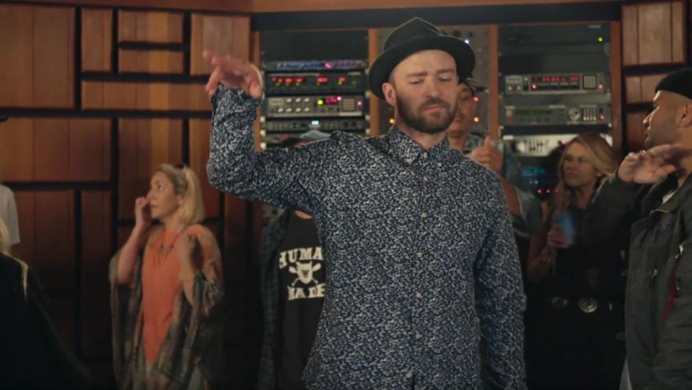 """Szene aus dem Musikvideo zu """"Can't Stop The Feeling"""""""