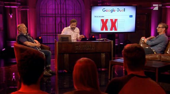 """Das """"Google Duell"""" bei """"Circus HalliGalli"""""""