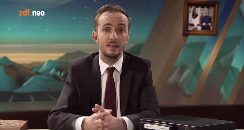 "Jan Böhmermann im ""Neo Magazin Royale"""