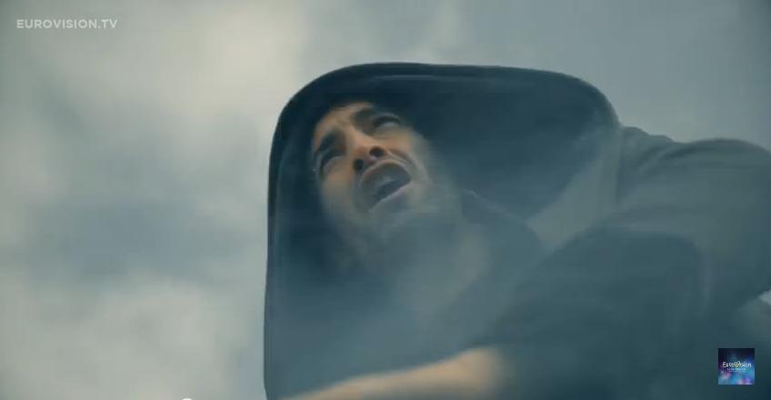 17.  Zypern: Minus One, 'Alter Ego'.   Krampfiger, hymnischer Breitbeiner-Rock aus dem Klischeelexikon von bizarren Testoster