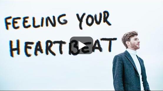 24. Lettland: Justs, 'Heartbeat'.   Etwas schwuler Lederjacken- und Ohrringträger presst sich durch verkrampften Elektronikq