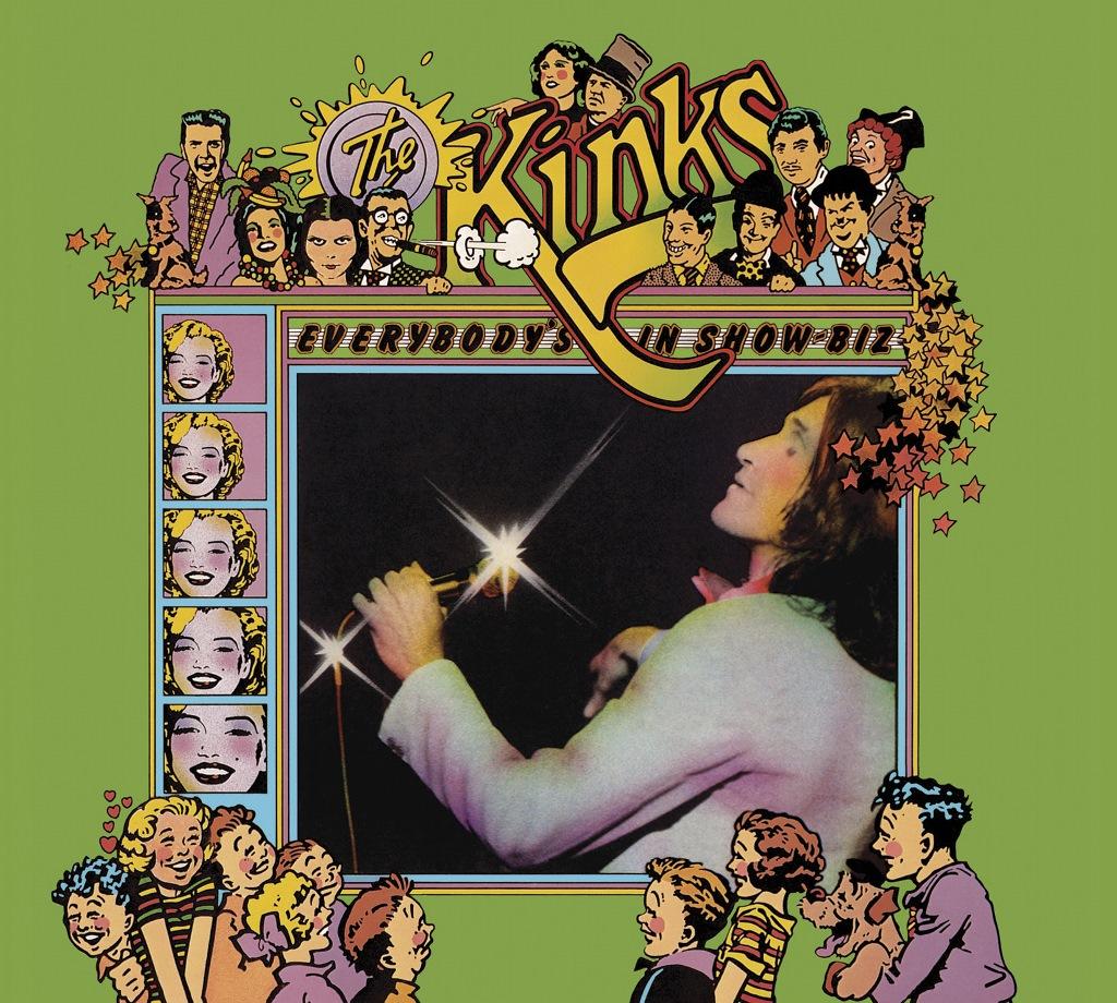 Kinks Everybody's In Show-Biz CD