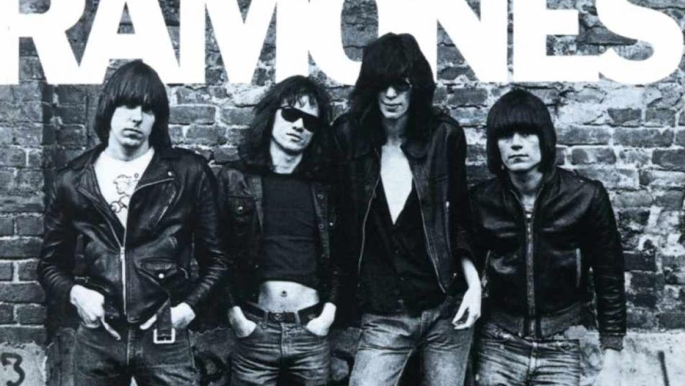 Das Cover der selbstbetitelten Debüt-LP der Ramones