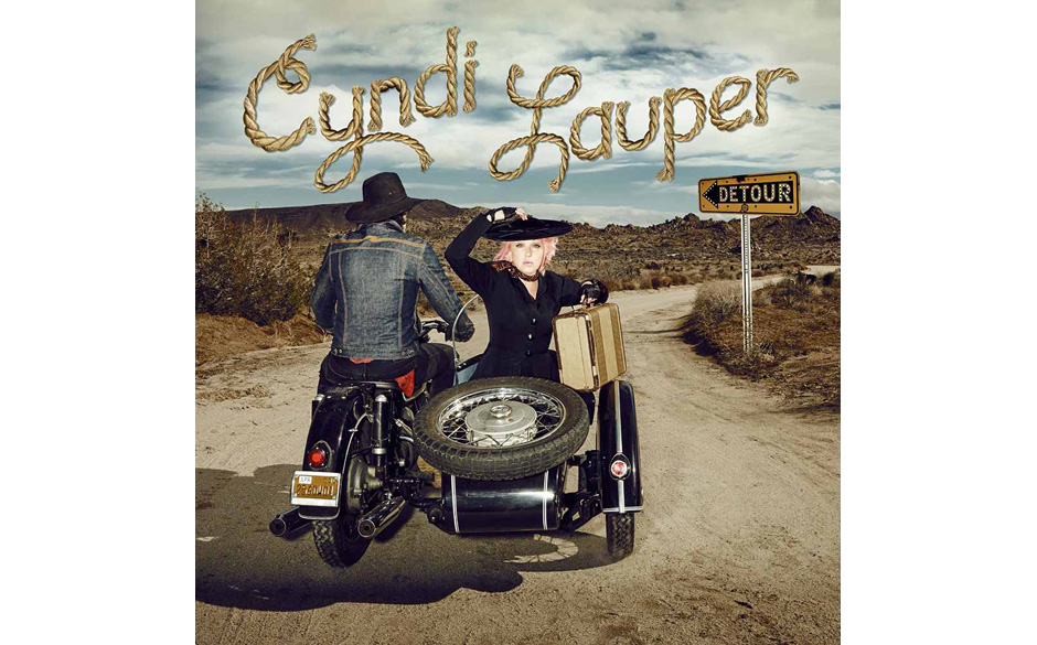 "Cyndi Lauper country album titled ""Detour""