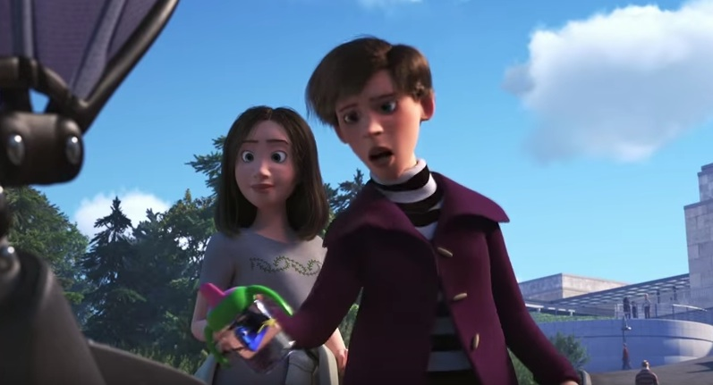 """Szene aus dem Trailer von """"Finding Dory"""""""