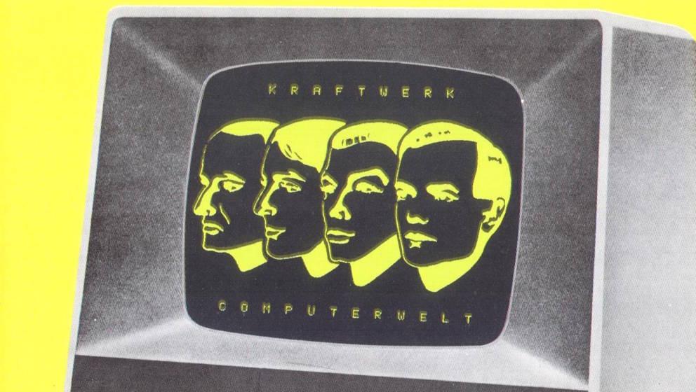 """Cover von Kraftwerks """"Computerwelt"""""""