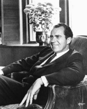 Portrait de Richard Nixon