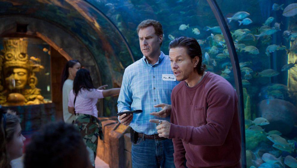 """Will Ferrell (l) und Mark Wahlberg in einer Szene aus """"Daddy's Home""""."""
