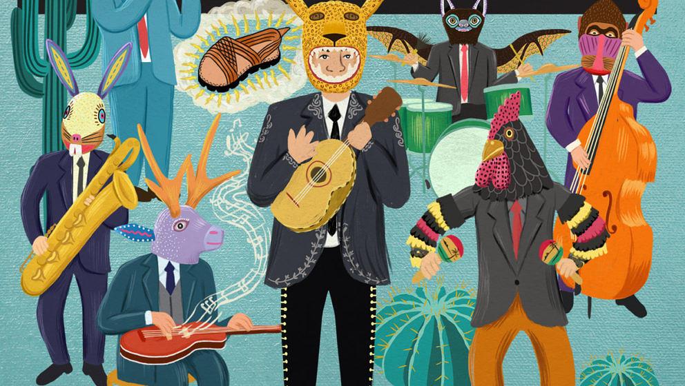 Orkesta Mendoza – ¡Vamos A Guarachar! ★★. Ein überdrehtes US-mexikanisches Klangmosaik aus Tucson/Arizona