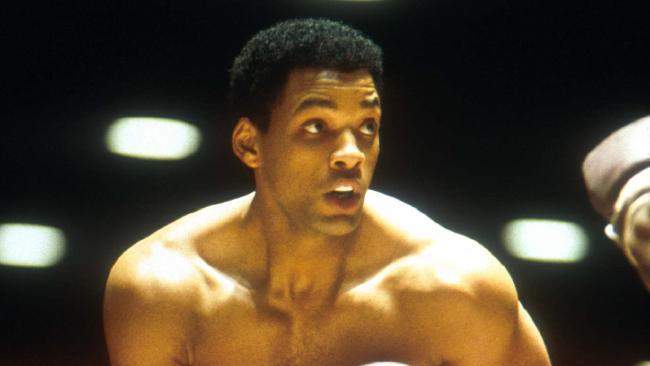 "Szene aus ""Ali"" mit Will Smith als Muhammad Ali"