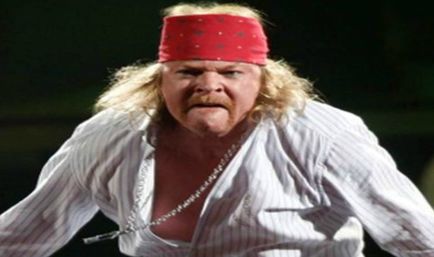 Axl Rose in der Fat-Meme-Version