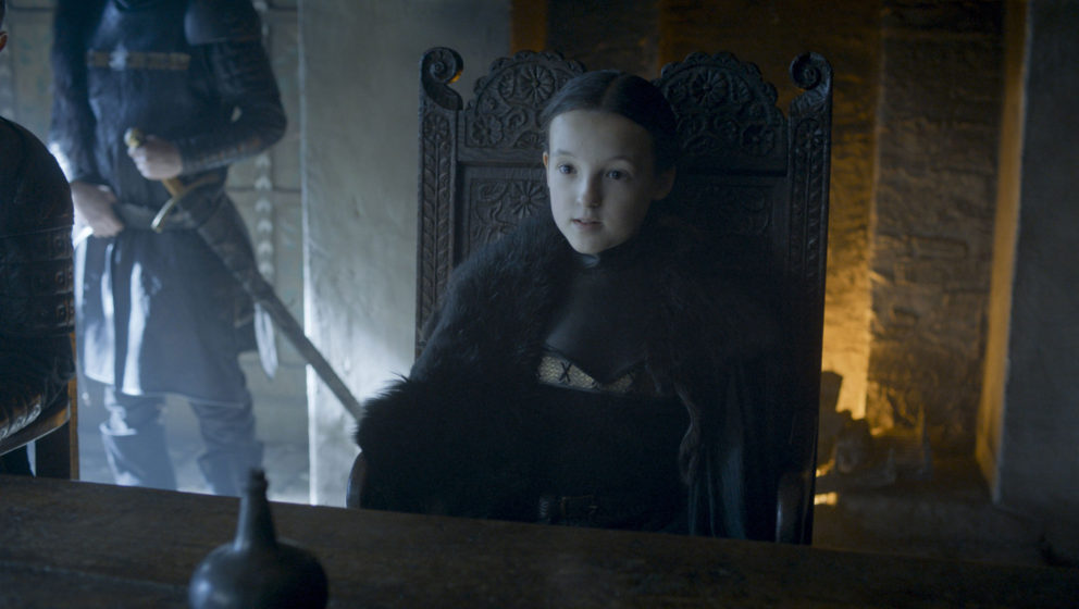 "Bella Ramsey als Lyanna Mormont in ""Game Of Thrones"""