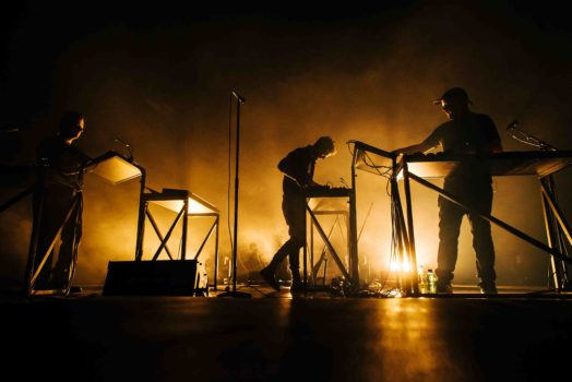 Moderat live im Velodrom Berlin (Photo by Stefan Hoederath/Redferns)