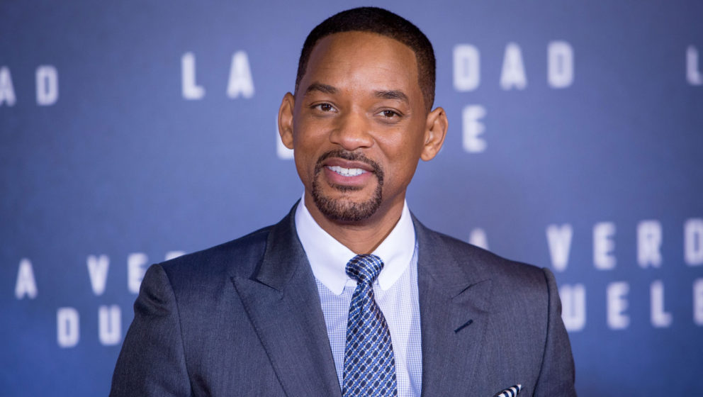 "Will Smith bei der Madrid-Premiere seines Films ""Concussion"" im Januar 2016."