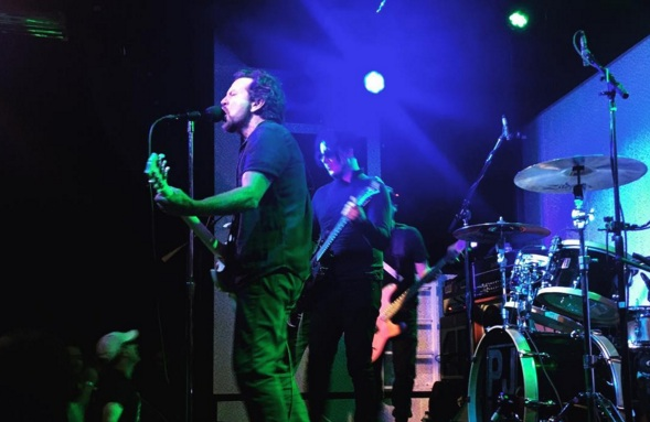 Pearl Jam bei ihrem Gig in Nashville