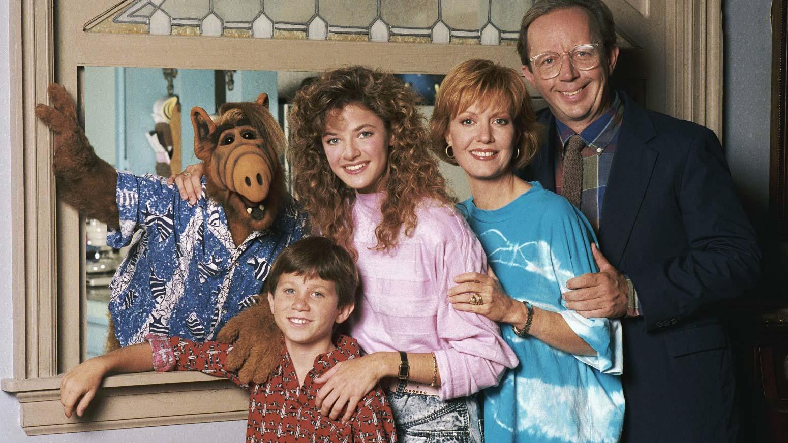 ALF mit der Familie Tanner