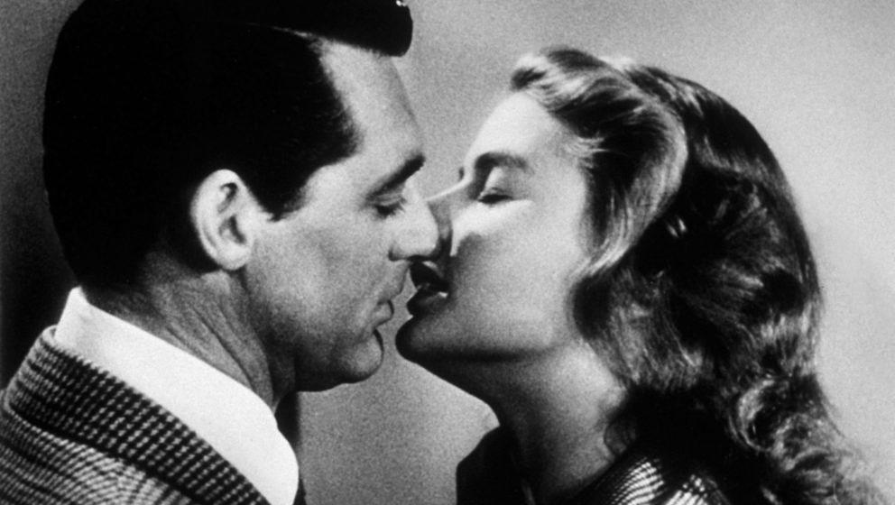 "Cary Grant und Ingrid Bergman in Alfred Hitchcocks ""Berüchtigt"""