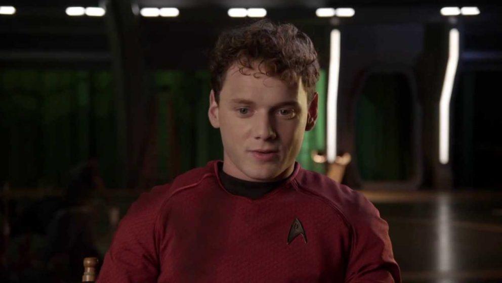 "Anton Yelchin als Chekov in ""Star Trek"""