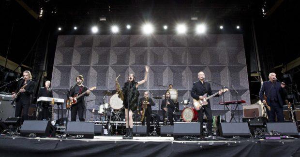 PJ Harvey Performs In Berlin