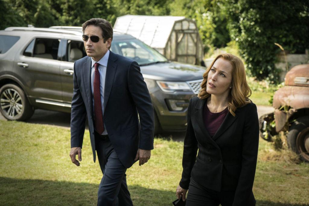Mulder und Scully gemeinsam im Einsatz.