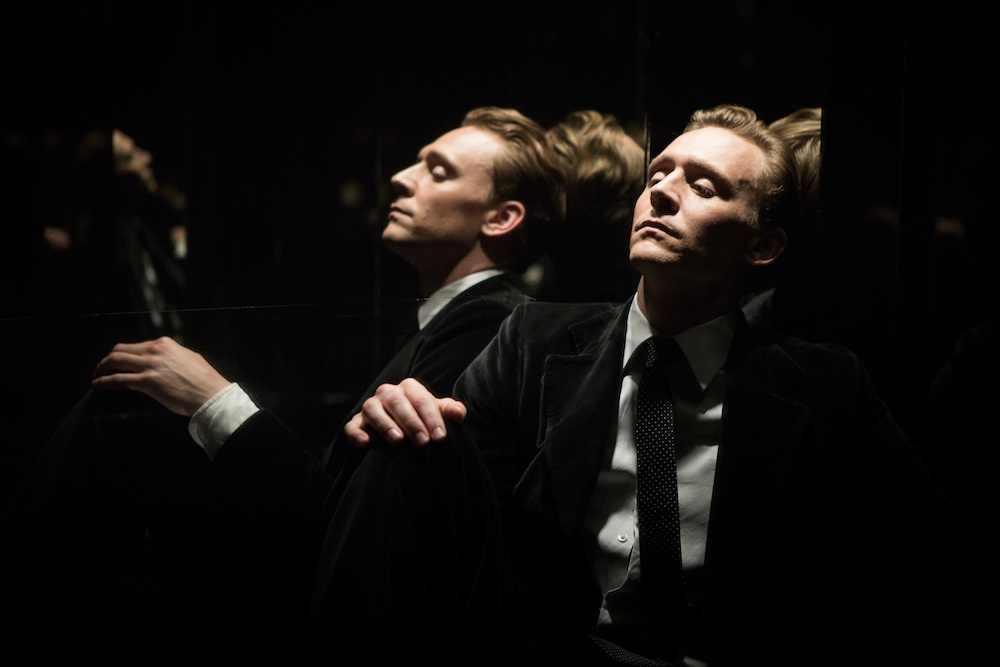 "Tom Hiddleston in ""High Rise"""