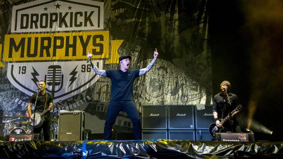 Dropkick Murphys live beim Hurricane 2016.
