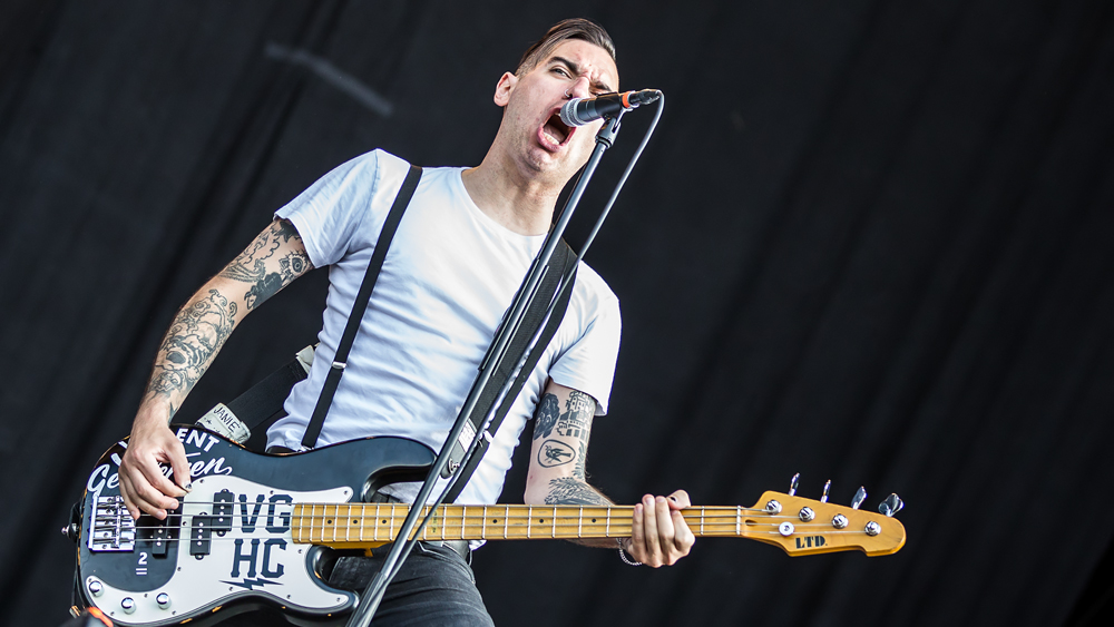 Anti-Flag auf dem Southside-Festival 2016.