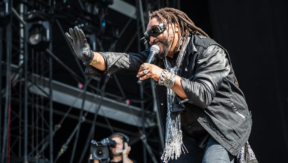 Skindred auf dem Southside-Festival 2016.