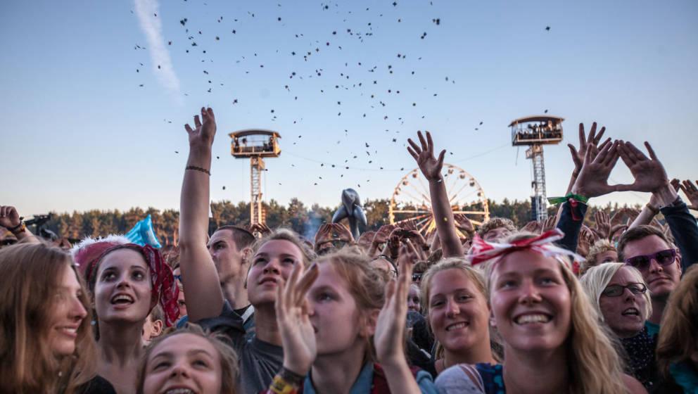 Publikum auf dem Hurricane Festival