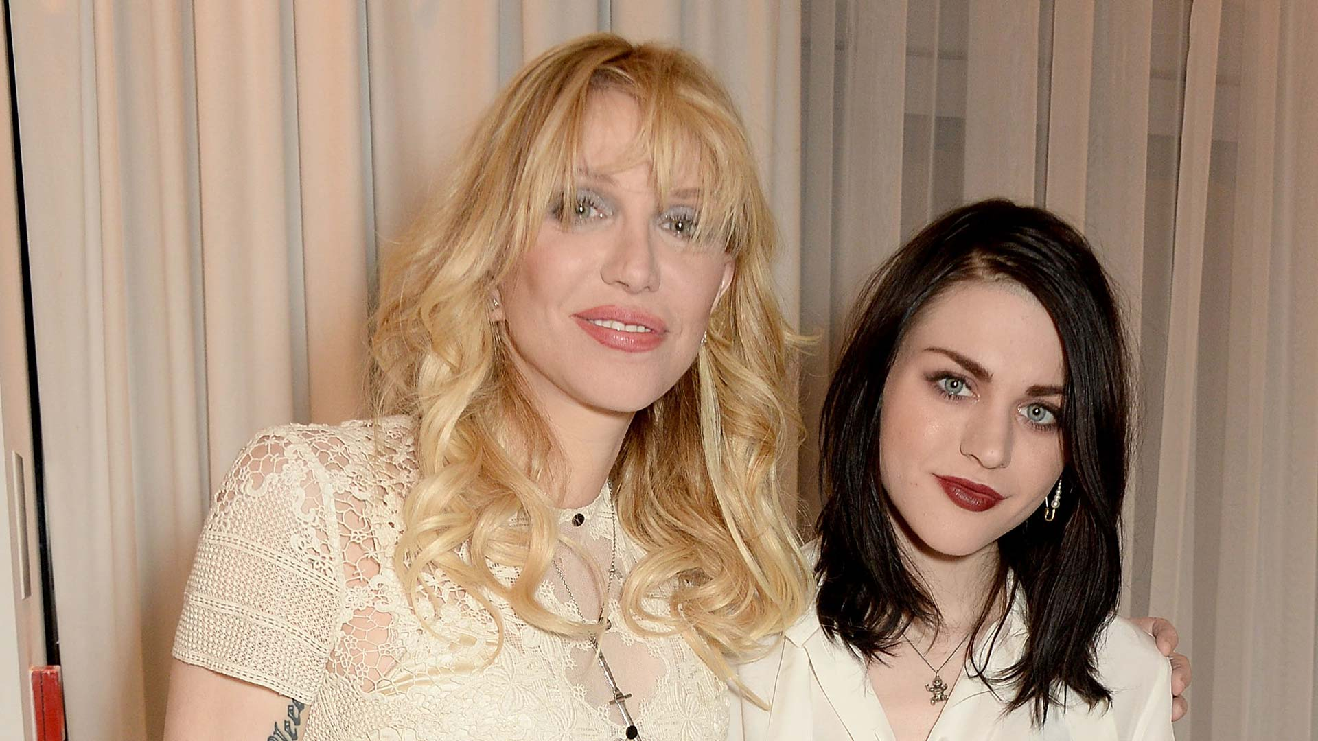 Courtney Love mit ihrer Tochter Frances Bean Cobain