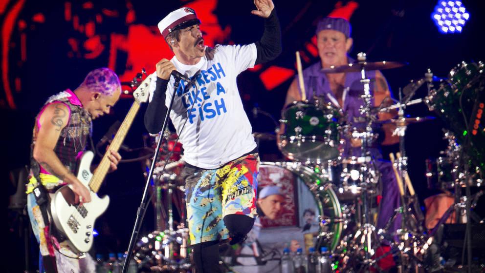 Red Hot Chili Peppers: Pyramiden-Konzert und neues Album
