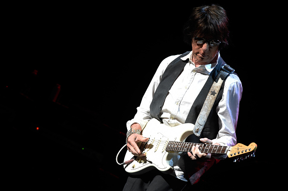 LOUISVILLE, KY - MAY 12:  Jeff Beck performs at Whitney Hall on May 12, 2015 in Louisville, Kentucky.  (Photo by Stephen J. C