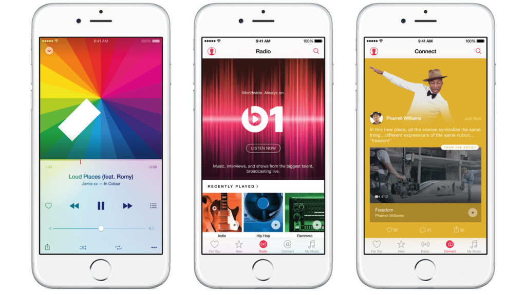 Apple Music auf dem iPhone 6s