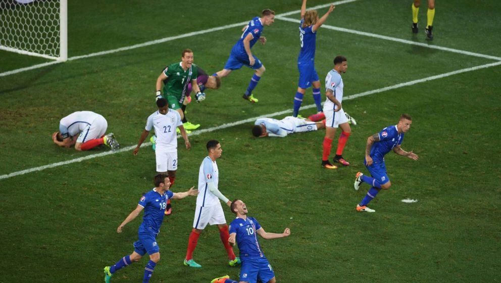 EM 2016: England gegen Island