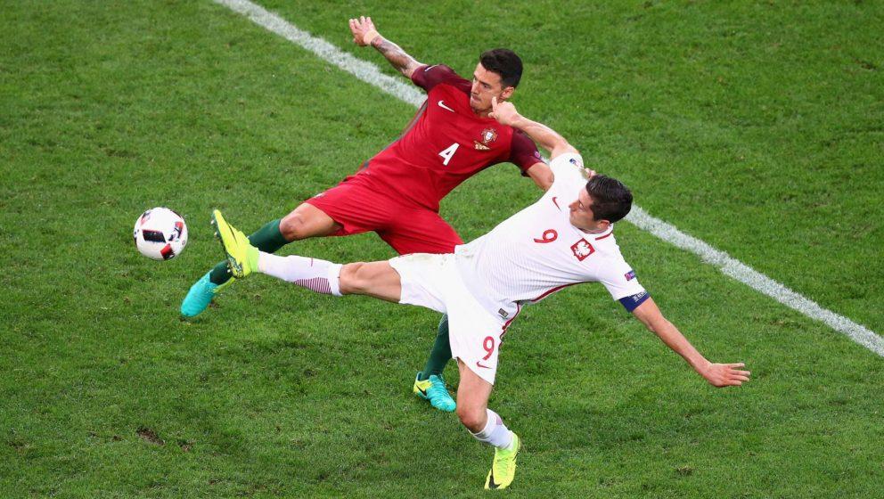 EM 2016: Polen gegen Portugal