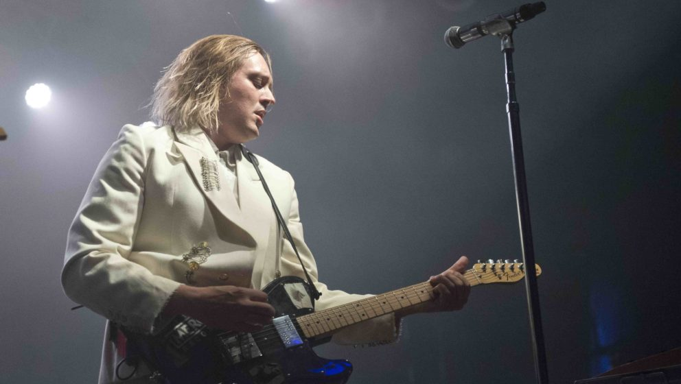 Arcade-Fire-Sänger Win Butler spielt sich die Seele aus dem Leib