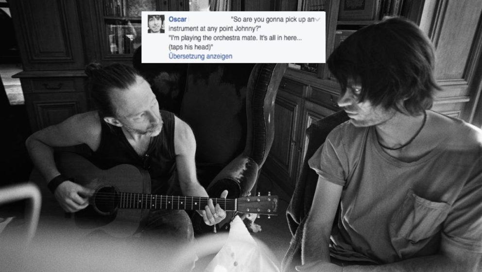 """""""Wirst du irgendwann mal ein Instrument spielen, Johnny?"""" – """"Ich spiele das Orchester, Kumpel, ist alles hier drin"""""""