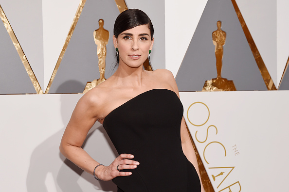 HOLLYWOOD, CA - FEBRUARY 28:  Actress Sarah Silverman attends the 88th Annual Academy Awards at Hollywood & Highland Cent