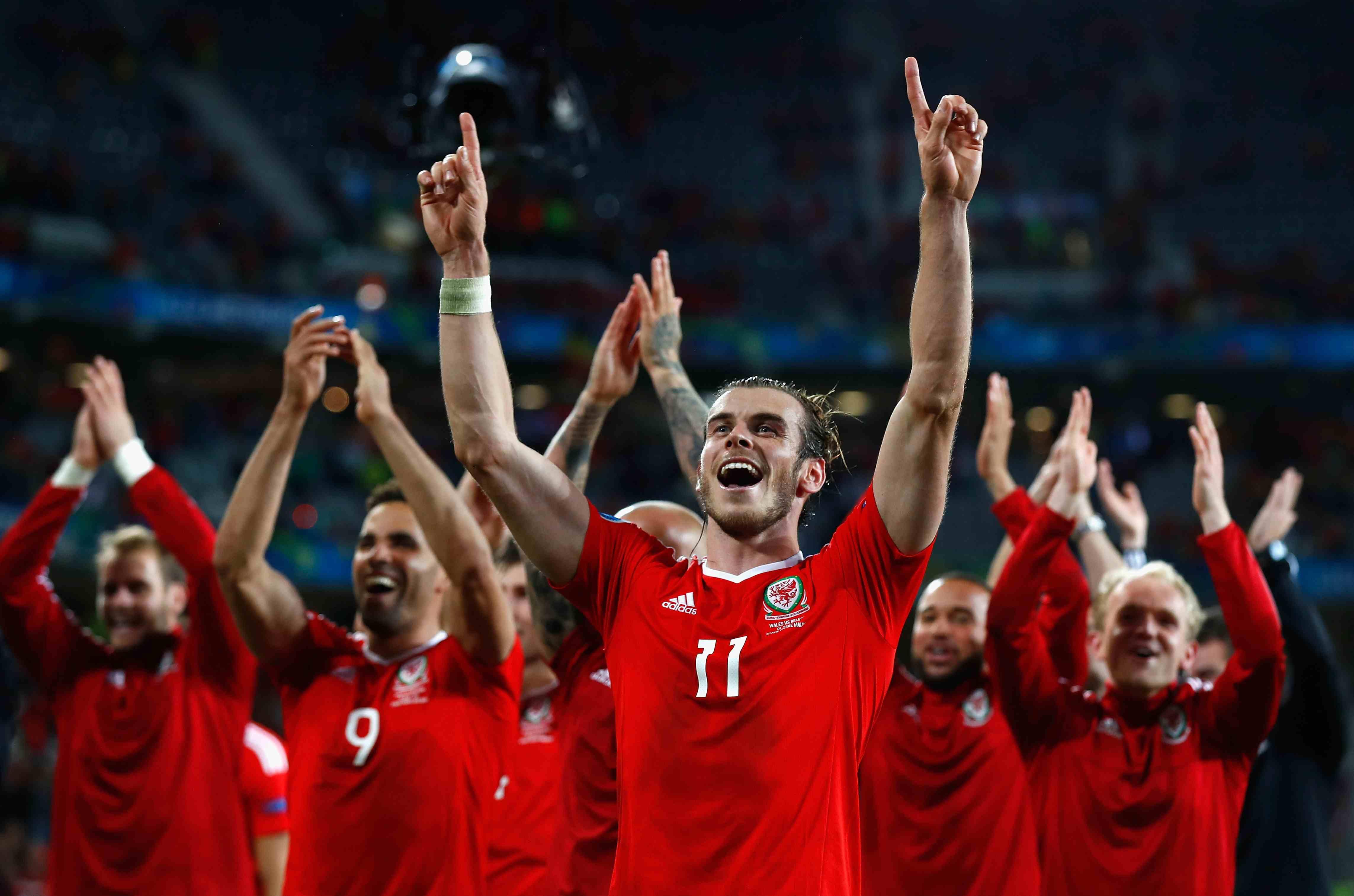 Wales und ihr Kapitän Gareth Bale können stolz auf sich sein