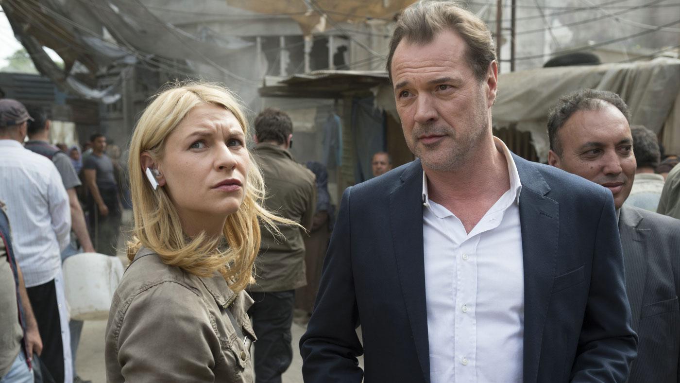 """Claire Danes und Sebastian Koch in der fünften Staffel von """"Homeland"""""""