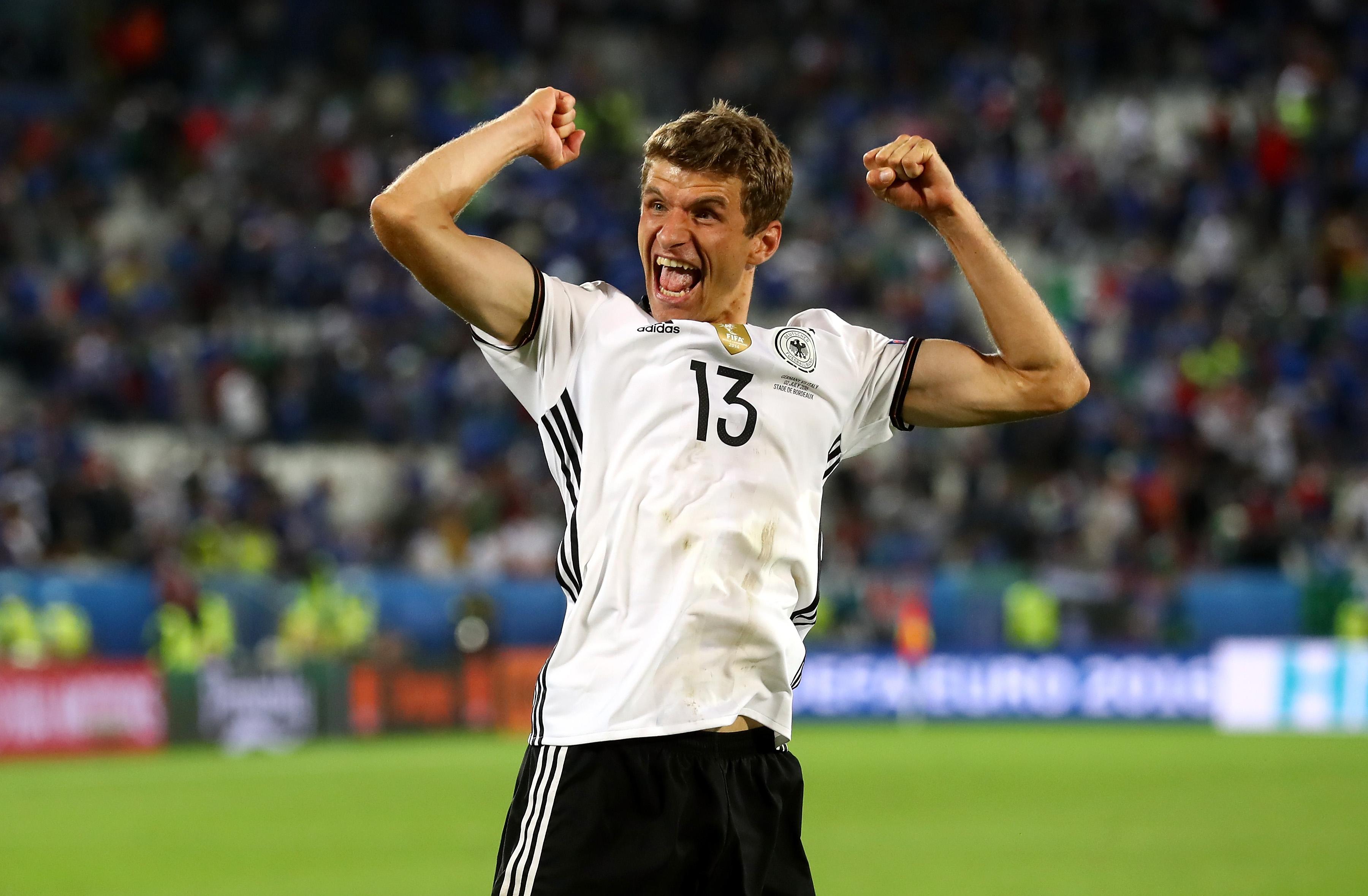 Thomas Müller will bei der EM unbedingt das Tor treffen - ob es gegen Frankreich klappt?